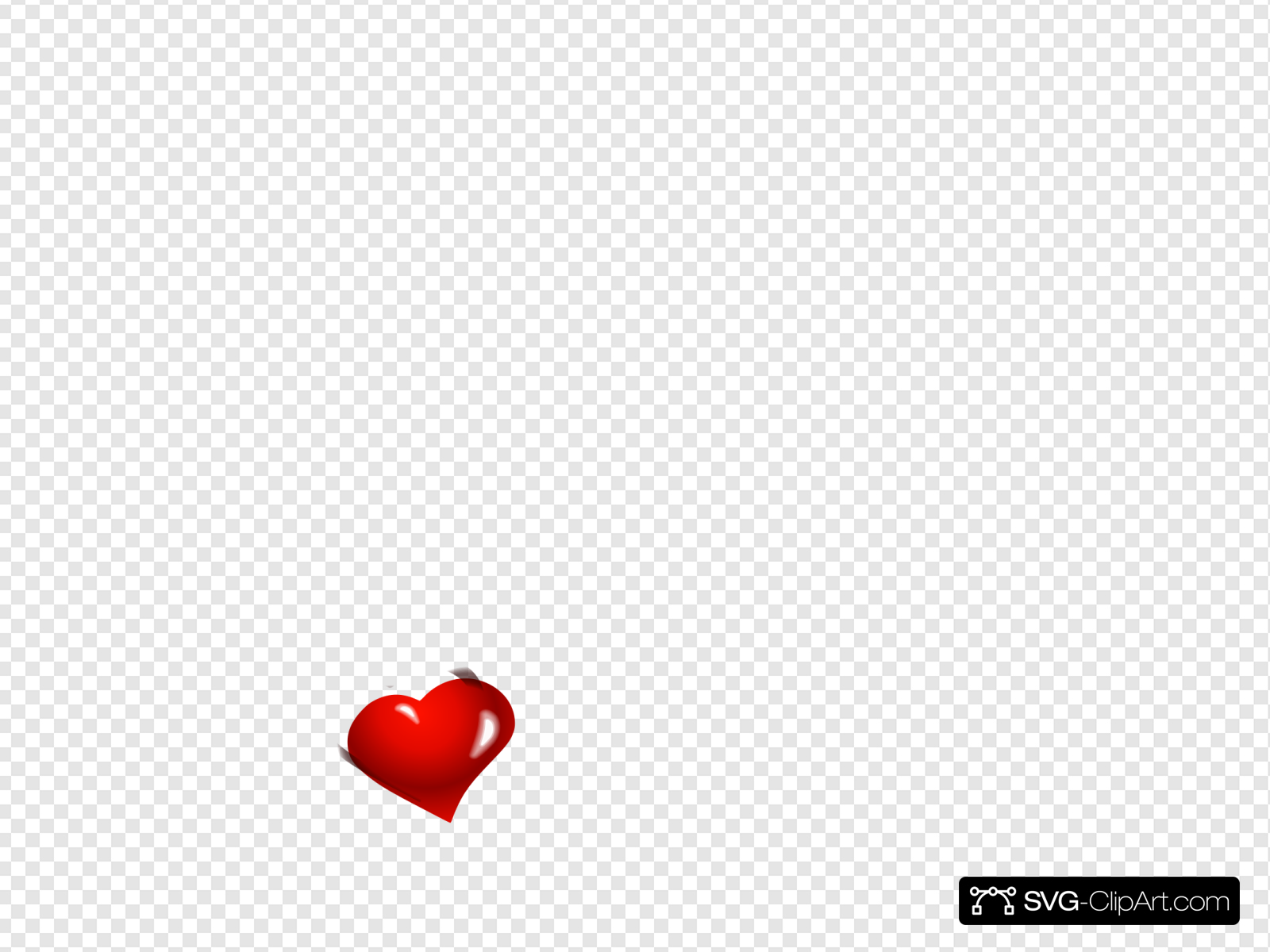Small Heart Clip art, Icon and SVG