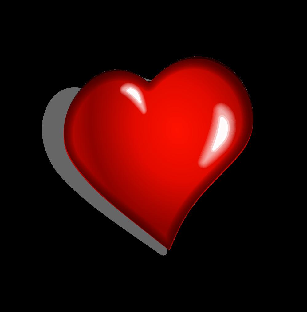 Heart clipart side.