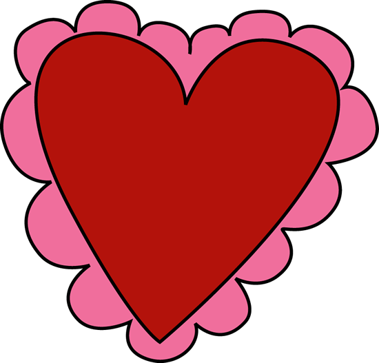 Image of valentine heart clipart