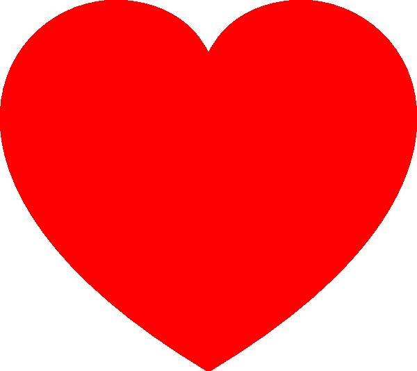Clip Art Red Heart