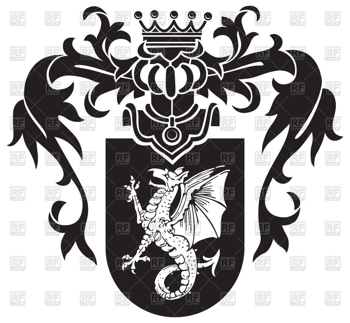 Pin heraldry.