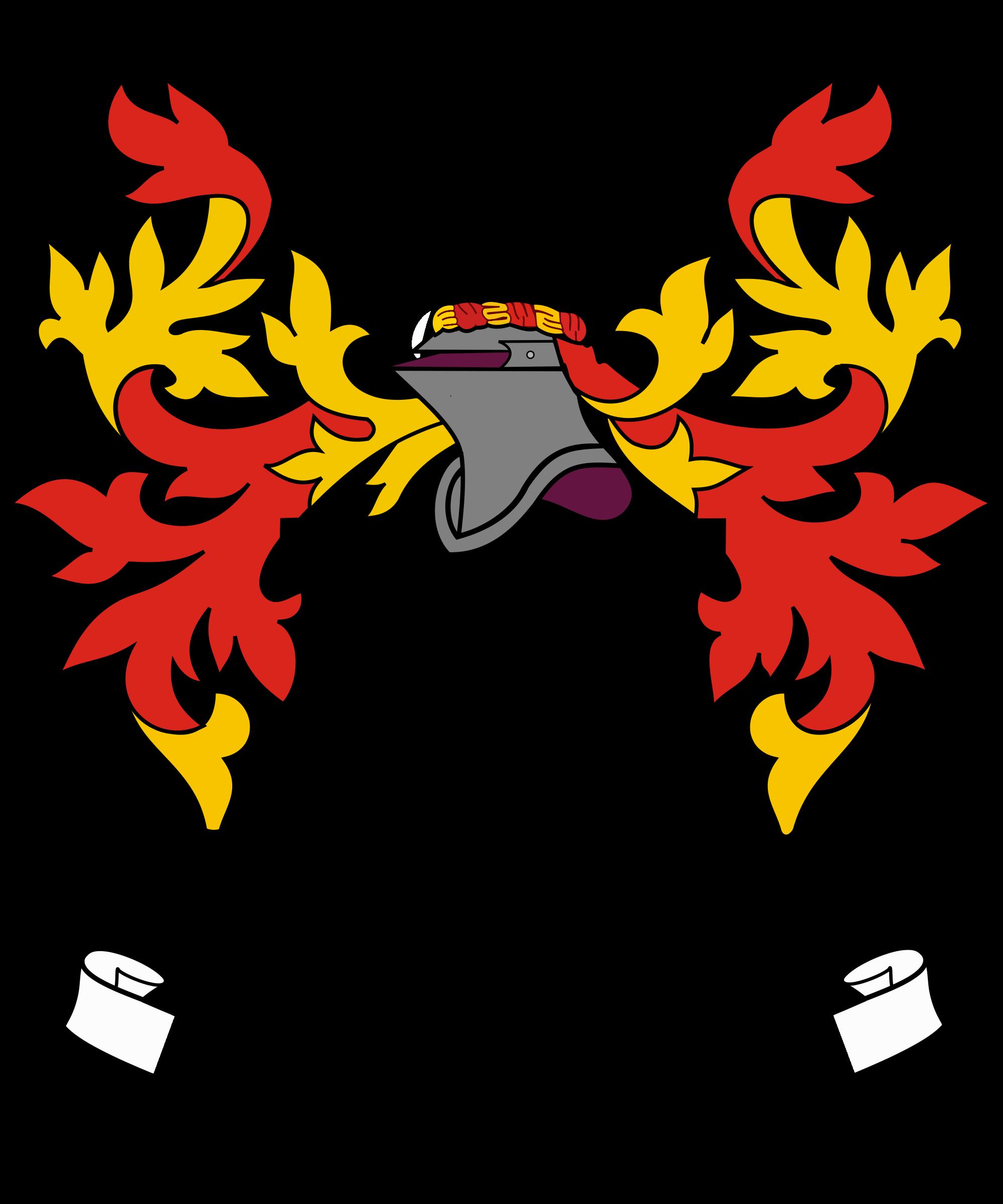 Filigree clipart heraldic.