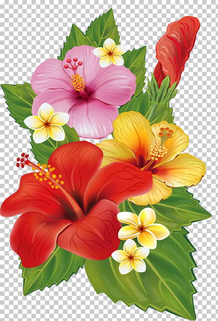 Flower bouquet decorative.