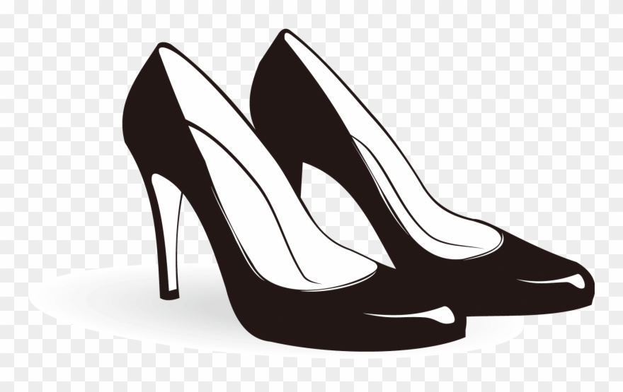 Shoe highheeled footwear.