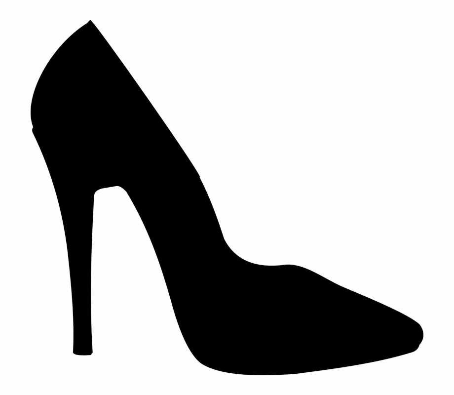 High heel shoe.