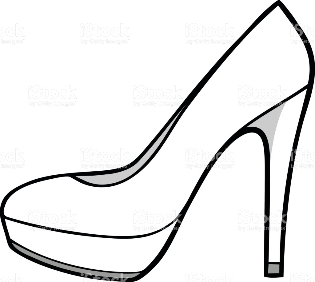 Collection heels clipart.