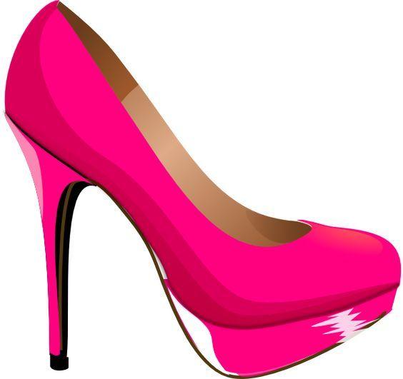Kids pink heels.