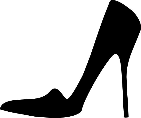 High heel png.