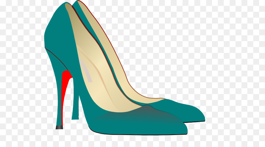 Heels transparent background.