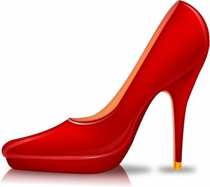 High heels shoe.