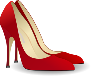 High heels clip.