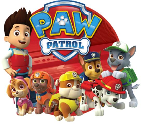 Paw patrol png hd.