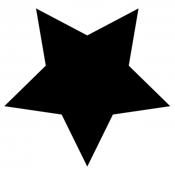 High resolution star.