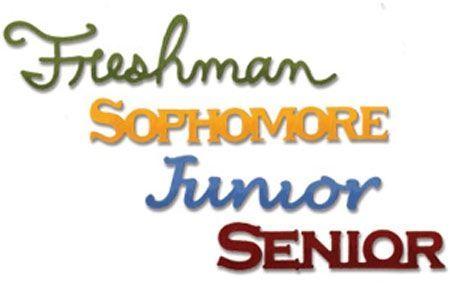 Free freshman cliparts.