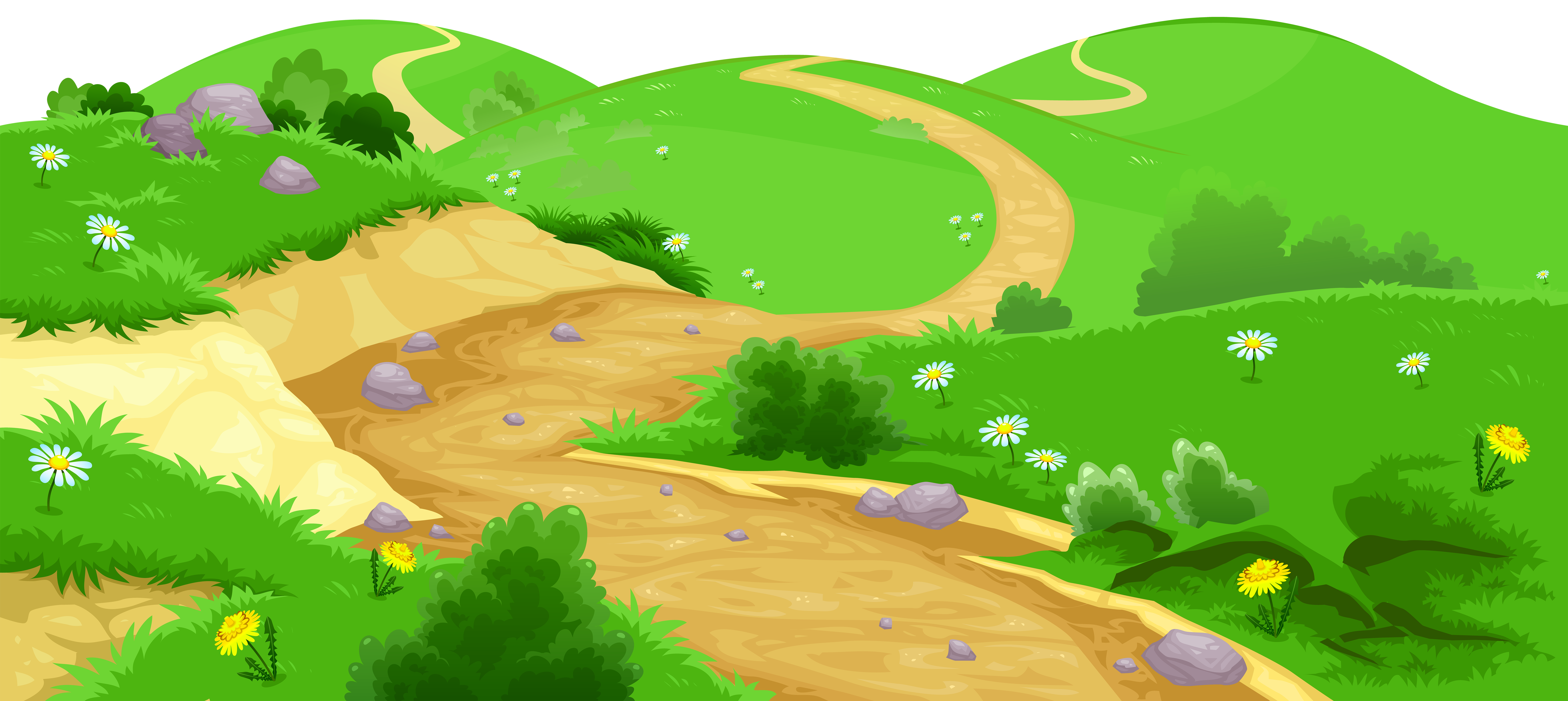 Hills clipart ground.