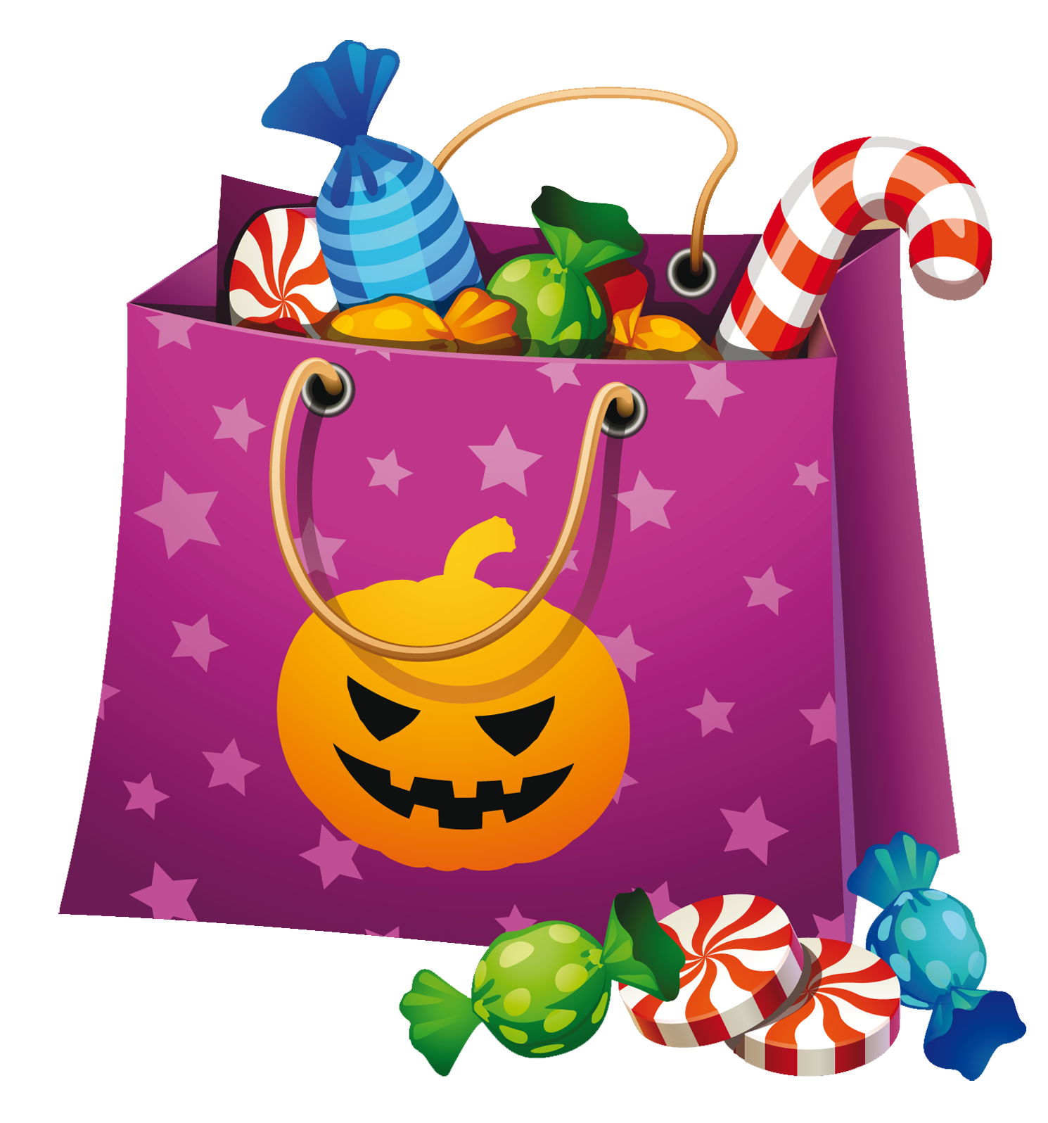 Halloween png candy.