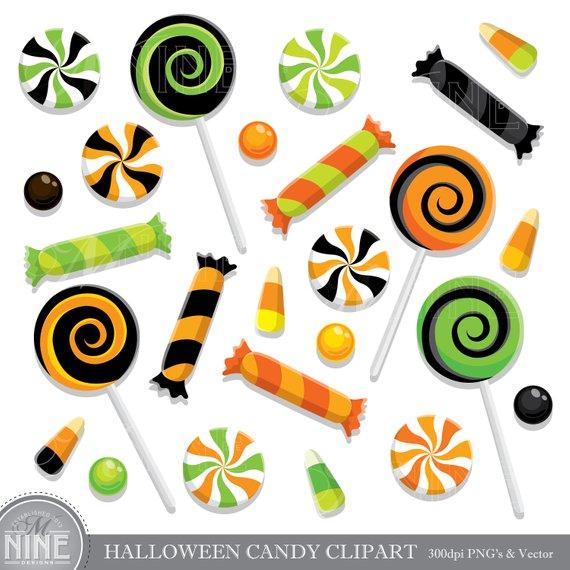 Halloween candy clip.