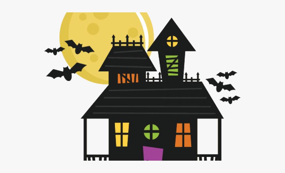 Haunted House Clipart Halloweenhaunted