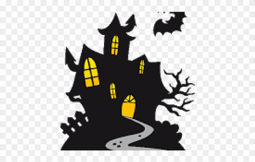 Halloween Clipart Haunted House