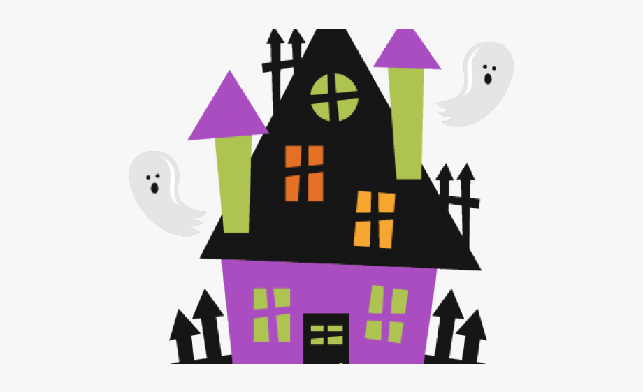 Haunted House Clipart Haunted School