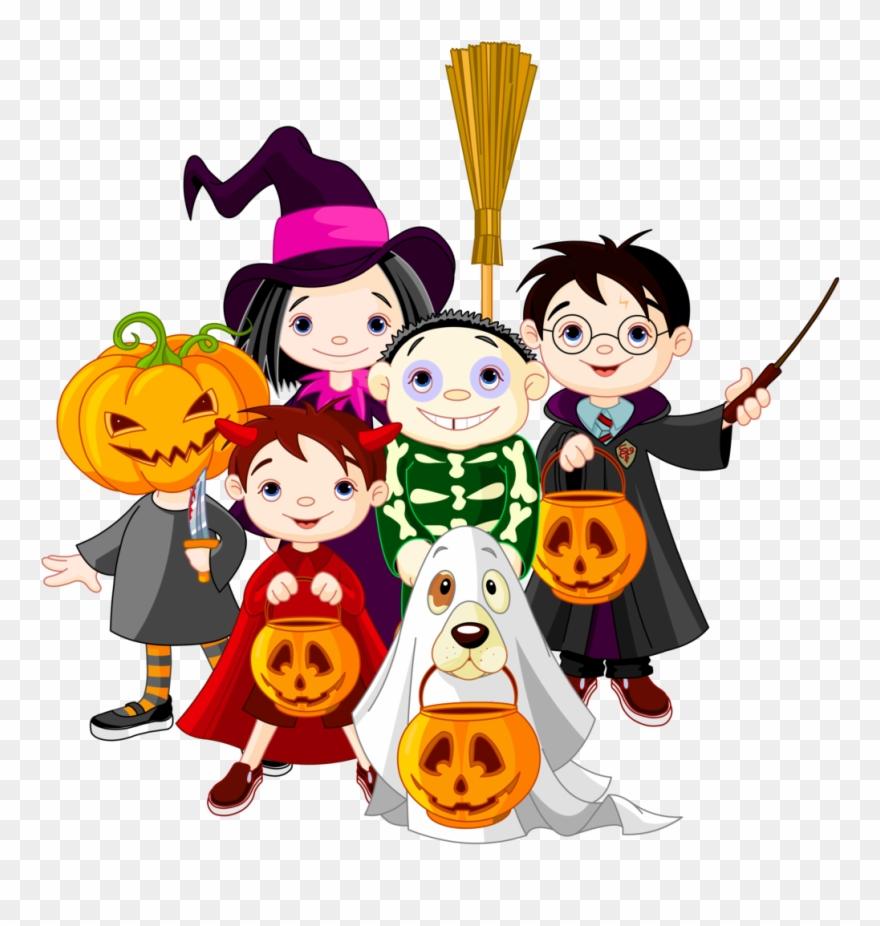 Childrens Halloween Clipart