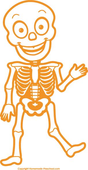 Skeleton free halloween.