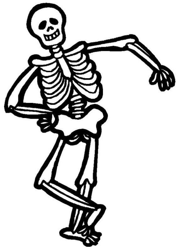 Free Cartoon Halloween Skeleton, Download Free Clip Art