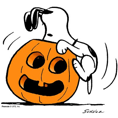 Snoopy Happy Halloween Clipart