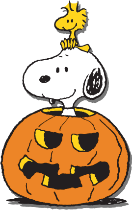 Snoopy halloween icon.