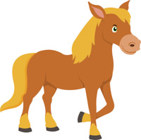 Free horse clipart.