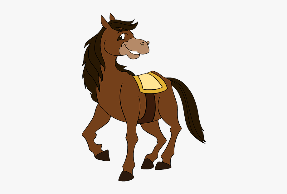 Horse transparent cartoon.