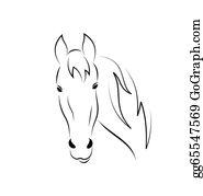 Horse head clip.