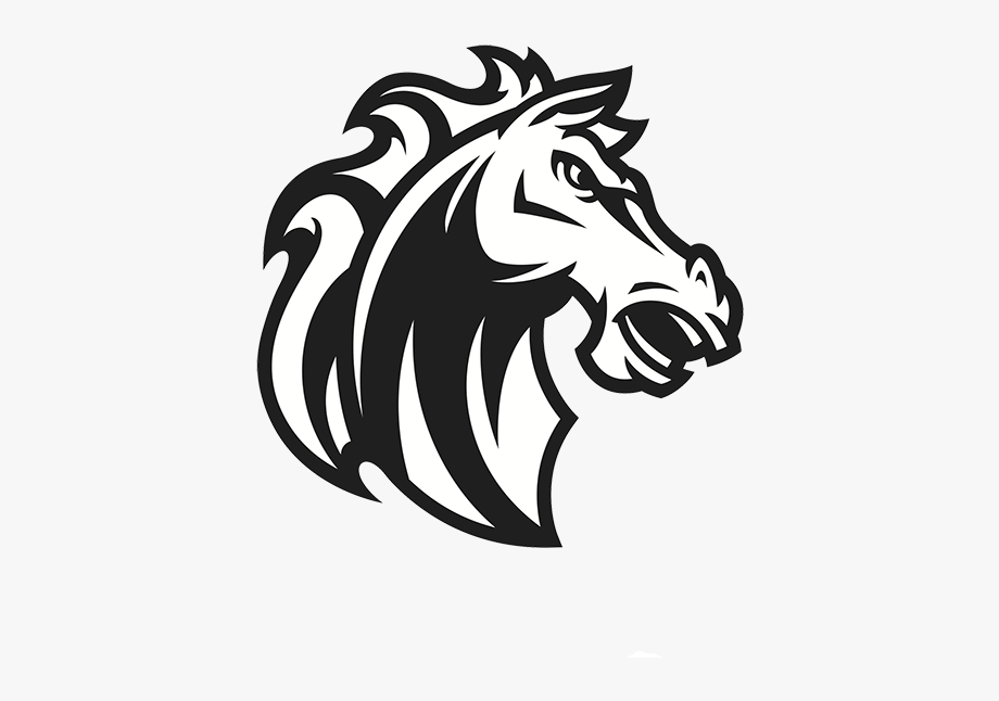 Mustang horse clipart.