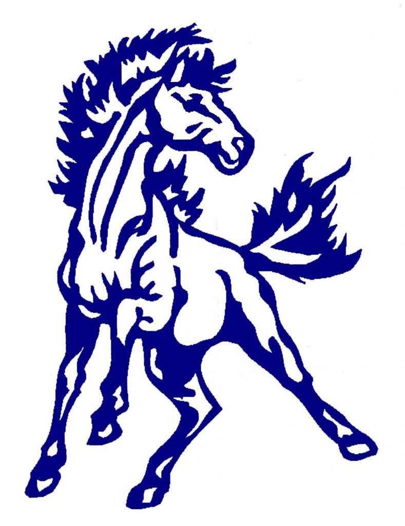 Mustang horse logo.