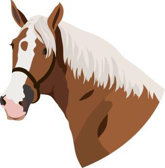 Clipart horses printable.