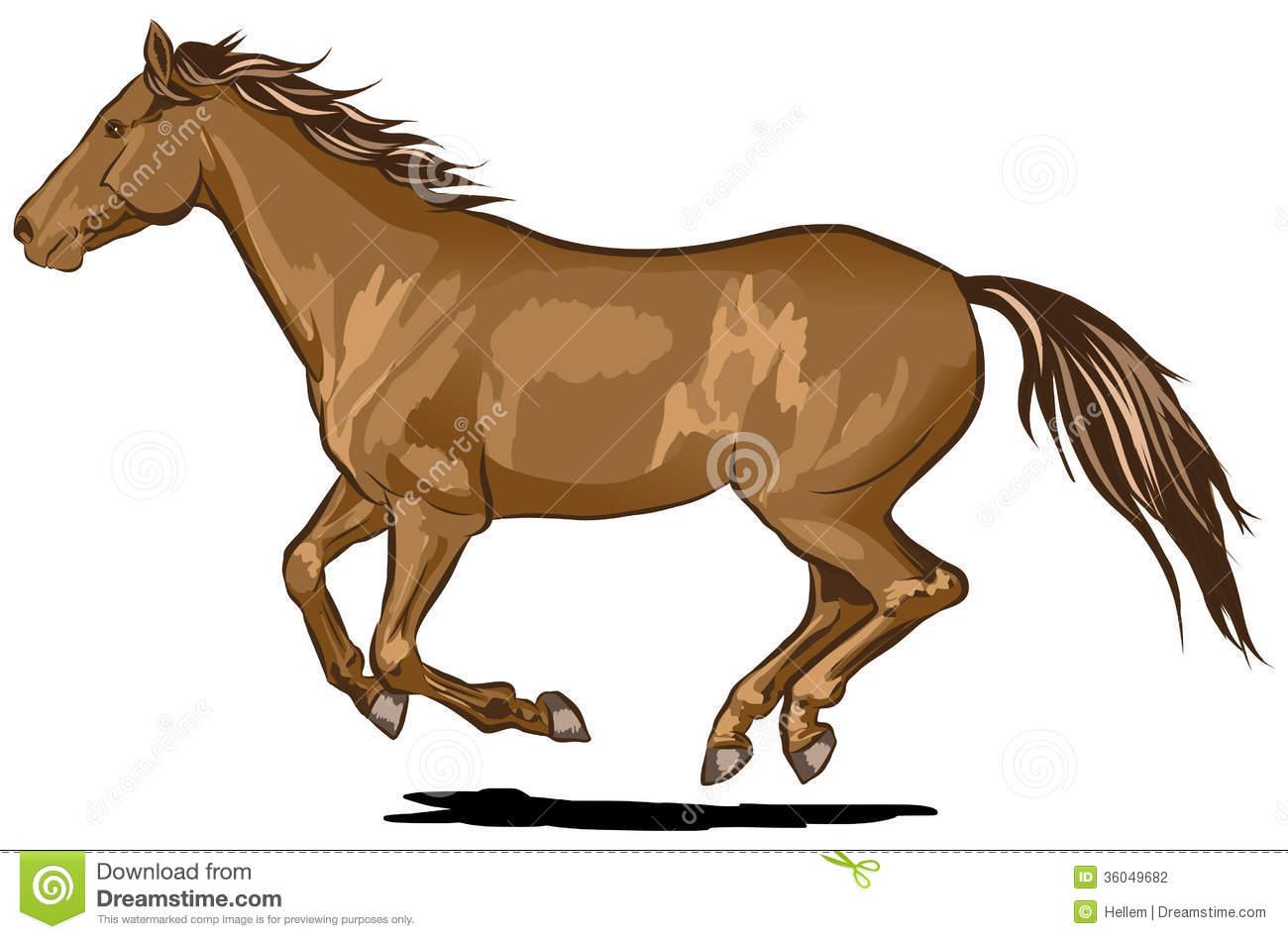 60 running horse.
