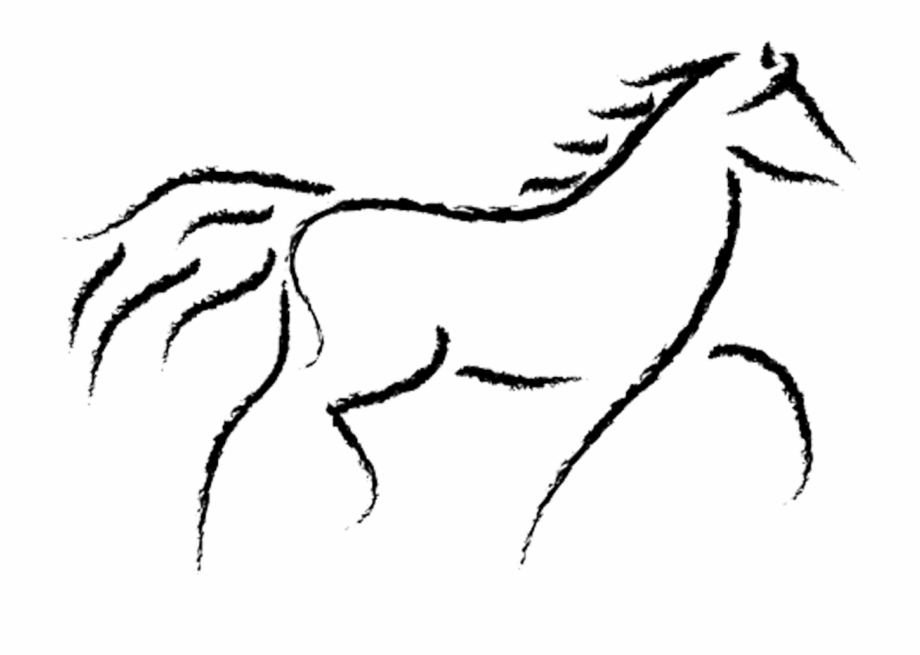 Sargent drawing horse.