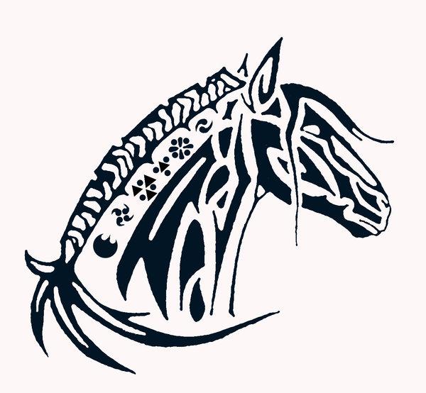 Free tribal horse.