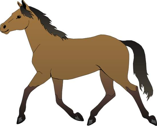 Horse clipart free.