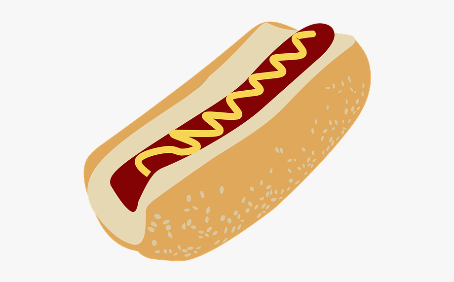 fast food clipart hot dog