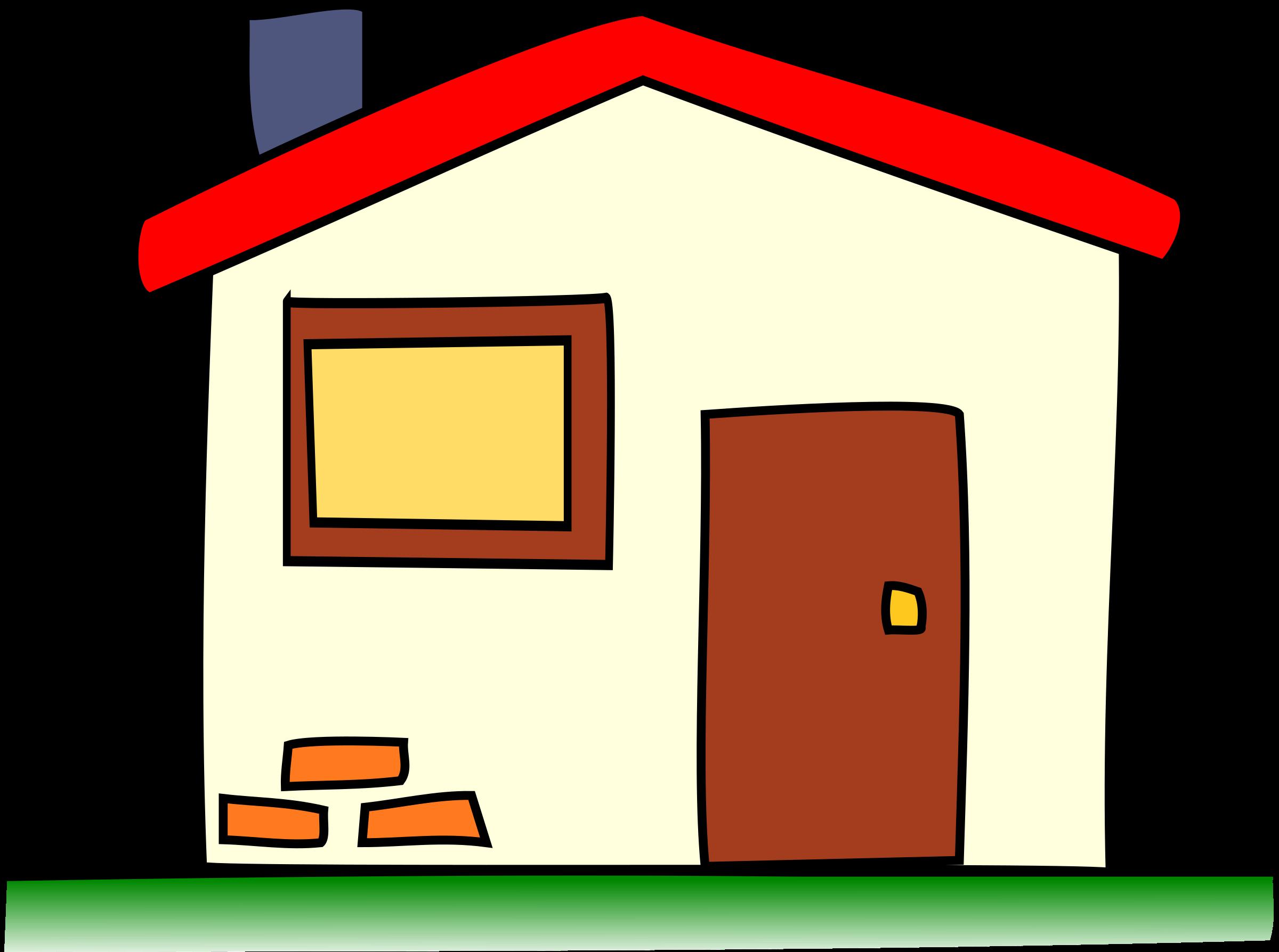 House clip art clipartandscrap
