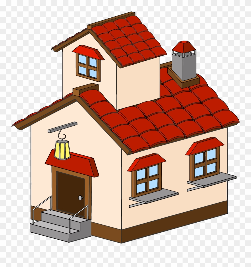 Simple House Clipart Clip Art Of Clipartwork
