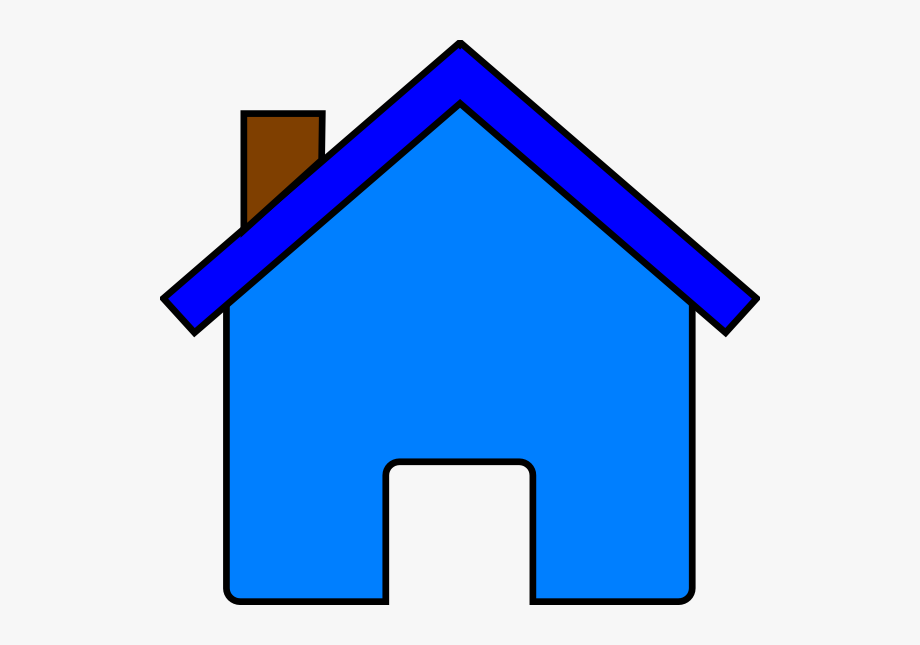 Blue House Png Images