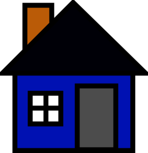 Free House Blue Cliparts, Download Free Clip Art, Free Clip