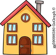 Cartoon house clip.
