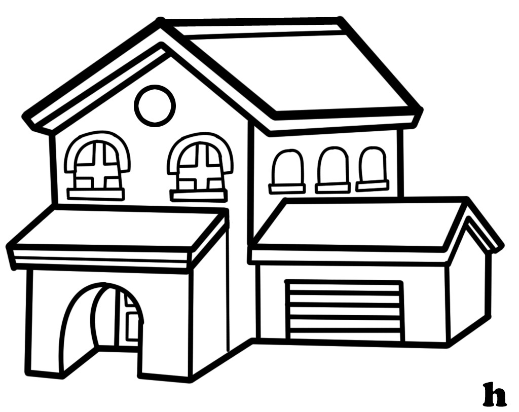 Free House Line Cliparts, Download Free Clip Art, Free Clip