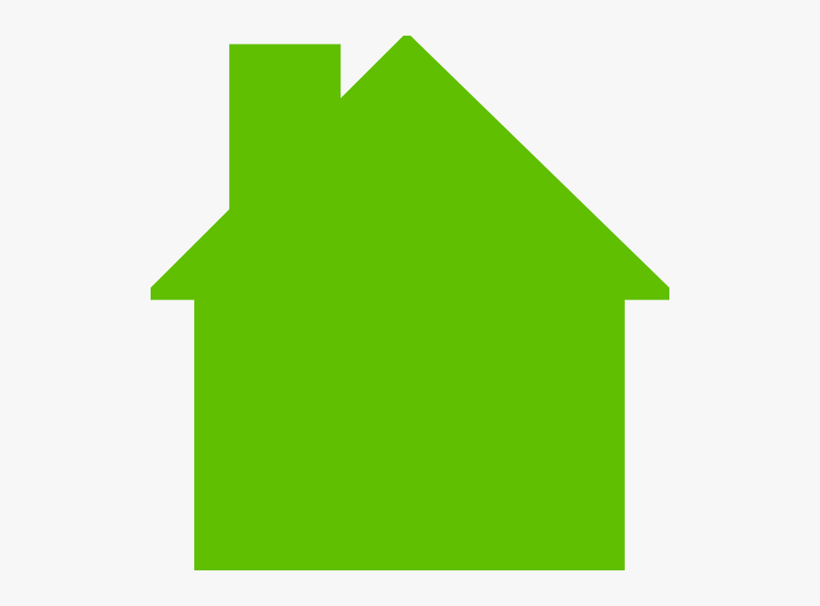 House logo green.