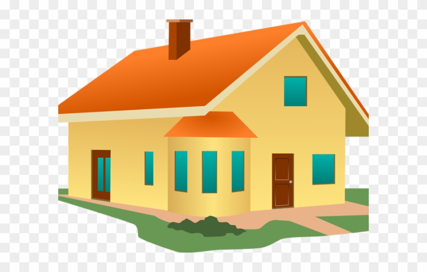 Mansion Clipart House Without Roof