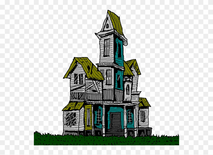 Old house clipart.
