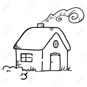 Free Clipart Of Old Houses